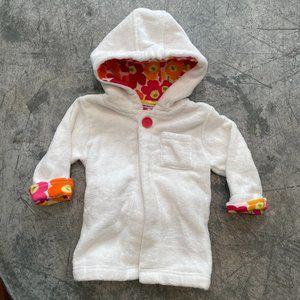 Marimekko Terry Cloth Floral Robe One Size Infant
